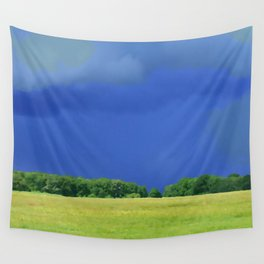 landscape with dramatic sky Wall Tapestry