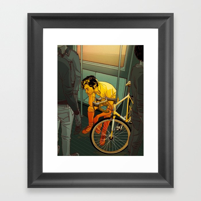 The Ride (2009) Framed Art Print