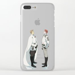 Director krennic and cadet hux Clear iPhone Case