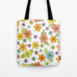 Flowers No. 2 Tote Bag