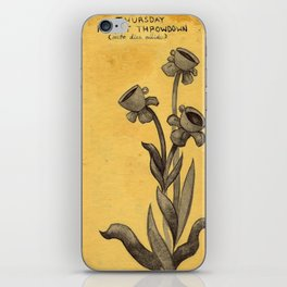 Teacup Daisies iPhone Skin