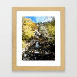 Fall in Boulder, CO Framed Art Print