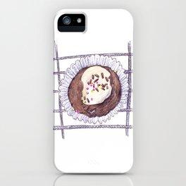 Chocolate Overload Cupcake iPhone Case