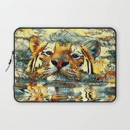 AnimalArt_Tiger_20170601_by_JAMColorsSpecial Laptop Sleeve