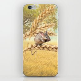 Little Field Mouse iPhone Skin