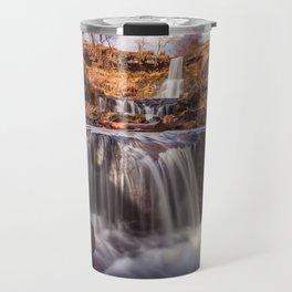 Blaen y Glyn waterfalls Travel Mug
