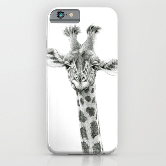 Young Giraffe  G2012-053 iPhone & iPod Case