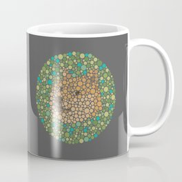 Such Color Blind Wow Doge See Coffee Mug