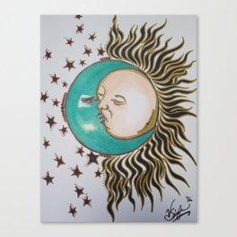 Sun&Moon Canvas Print