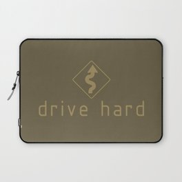 Drive Hard v4 HQvector Laptop Sleeve