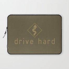 Drive Hard v4 HQvector Laptop Sleeve