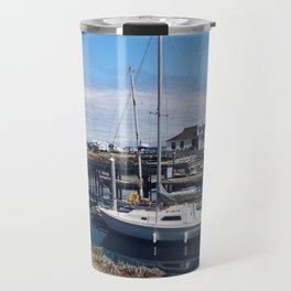 Let's Go Boating Travel Mug