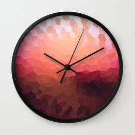 Abstraction. Sunset . Wall Clock