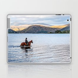 Horse at Airds Bay Loch Etive Laptop & iPad Skin