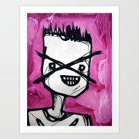 the xx Art Prints featuring xx by starheadboy