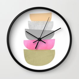 Balance, Mid Century Modern Art Wall Clock