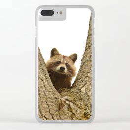Slingshot Candidate Clear iPhone Case