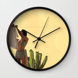 I love you sun Wall Clock