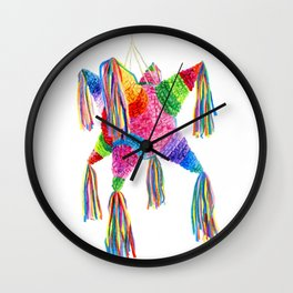 Mexican Pinata Wall Clock