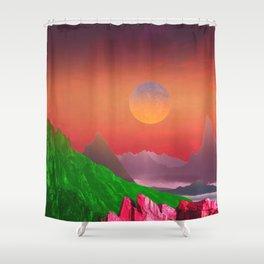 Landscape & Modern graphic 03 Shower Curtain