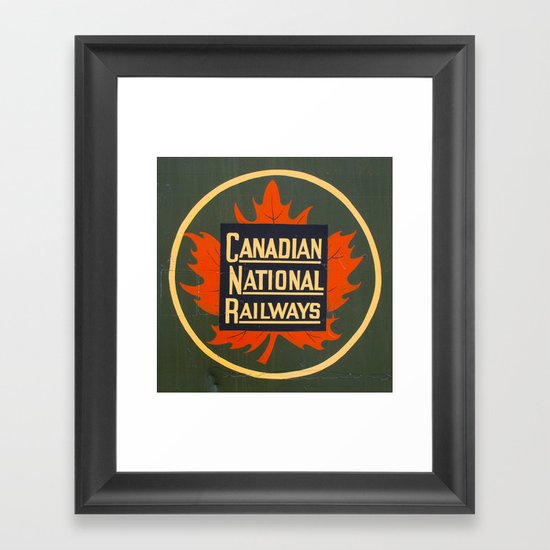 Canadian National Railways Framed Art Print