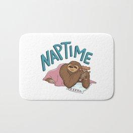 Nap Time Sloth Bath Mat