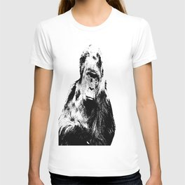 Gorilla In A Pensive Mood Portrait #decor #society6 T-shirt