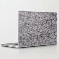 peonies Laptop & iPad Skins featuring Peonies by Akwaflorell