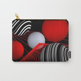 converging lines -1- Carry-All Pouch