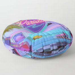 Paradise Wave Floor Pillow