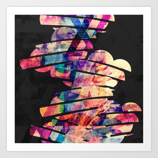 Thunder & Lightning Strike  Art Print