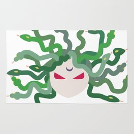The Gorgon - Medusa Minimalist Rug