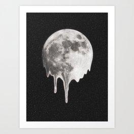 Moondrops Art Print