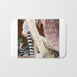 Ring-tailed lemur Bath Mat
