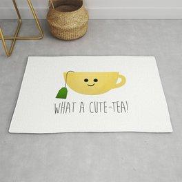 What A Cute-tea Rug