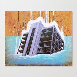 """""""The Fortress II"""" Canvas Print"""