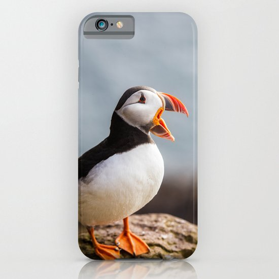 Puffin Wants a Cracker iPhone & iPod Case