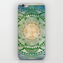 Metta Mandala, Loving Kindness Meditation iPhone Skin