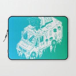 Melty Ice Cream Truck - Mint Laptop Sleeve