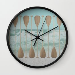 Stand Up Paddle Wall Clock