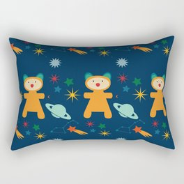 space teddy bear Rectangular Pillow