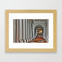 Pathway to Learning Framed Art Print