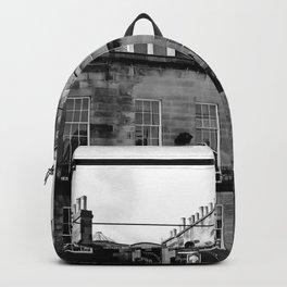 Edinburgh, Scotland Quaint City Homes Backpack