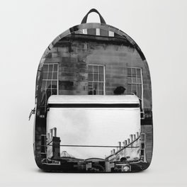Edinburgh, Scotland Quaint City Homes Backpack