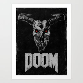 Doom - Icon of Sin Art Print