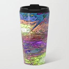 Technicolor Puddles Travel Mug