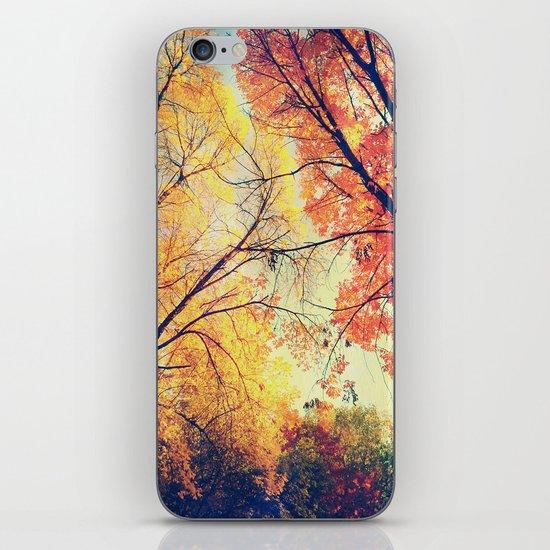 Autumn Embrace iPhone Skin