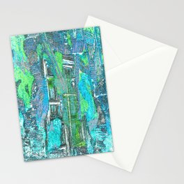 Abstract Fantasy 555 Stationery Cards