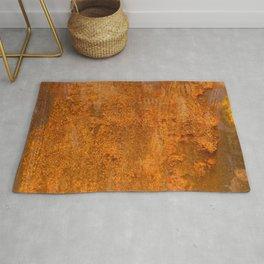 Abstract Rust Wall Rug