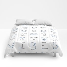 All solid vibes are good vibes Comforters